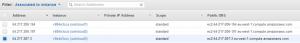 amazon instance ip